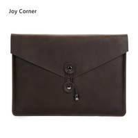 Joy Corner Drop Shipping Genuine Leather File Bag Document Bag 34 25 Cm Documents Folder For