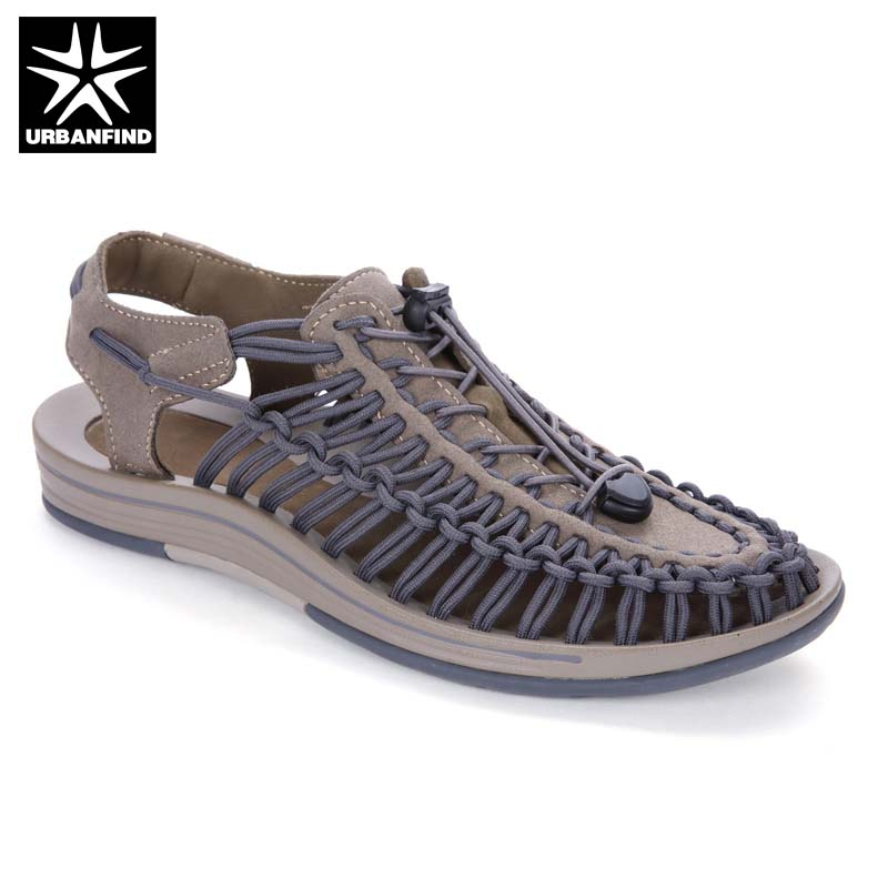 Weaving Design Men Summer Fashion Sandals Big Size 38-46 Quality Comfortable Male Breathable Casual Shoes Beach Water Sandals