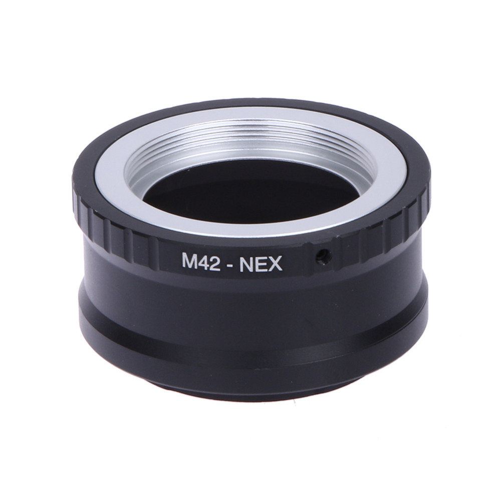 Camera Lens Mount Adapter Ring M42-NEX Pour M42 Et pour SONY NEX E Montage Corps pour NEX3 NEX5 NEX5N NEX7 Lens Mount Adapter