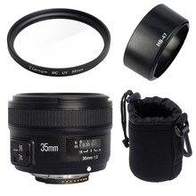 Yongnuo YN35mm F2N lens Wide-angle Large Aperture Fixed Auto Focus Lens For Nikon D7100 D3200 D3300 D3100 D5200 D90