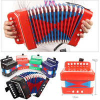 New Children Accordion Music Toys Stage Performance Music Toys Baby Mini Accordion Instruments Gift