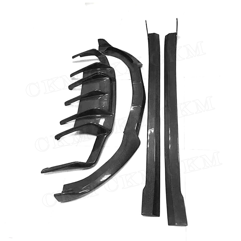 CLS Class B Style Carbon Fiber FRP Body Kits Front Rear Bumper Lip Spoiler Diffuser Side