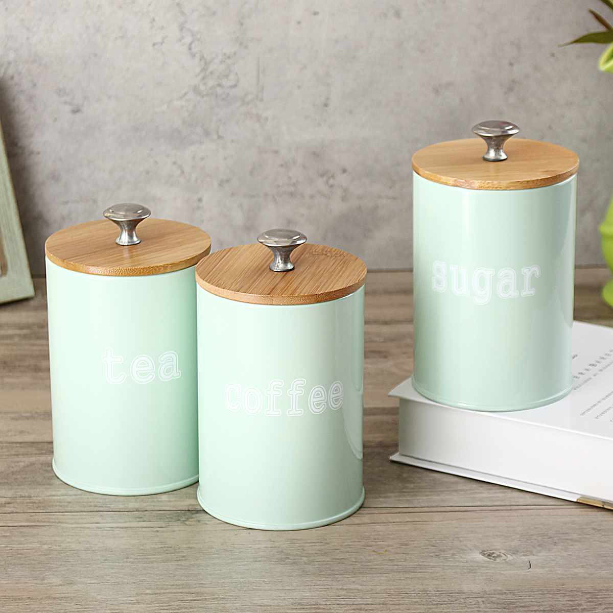 Coffee Canisters Storage Jars Kitchen