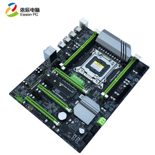 Jiahua Yu New X79T desktop computer motherboard LGA2011 CPU four-channel DDR3 memory Gigabit LAN card USB3.0 SATA III for industrial computer motherboard rocky 3785ev v 1 1 with cpu memory integrated network card