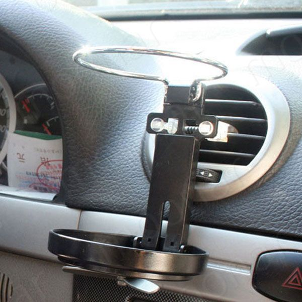Universal Folding Air Conditioning Inlet Auto Car Drink Holder Car Beverage Bottle Cup Car Frame for Truck Van Drink все цены