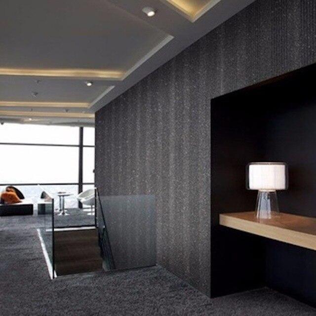 Neue Innenmaterial Schwarz Mica Dekoration Wandverkleidung Naturstein Wand  Papier
