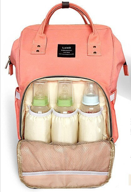 Roomy Nappy Bag in 7 colours