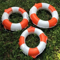Inflatable Swim Ring Life Buoy Floating Ring Armpit Swimming Lap PVC Swimming Circle With Rope