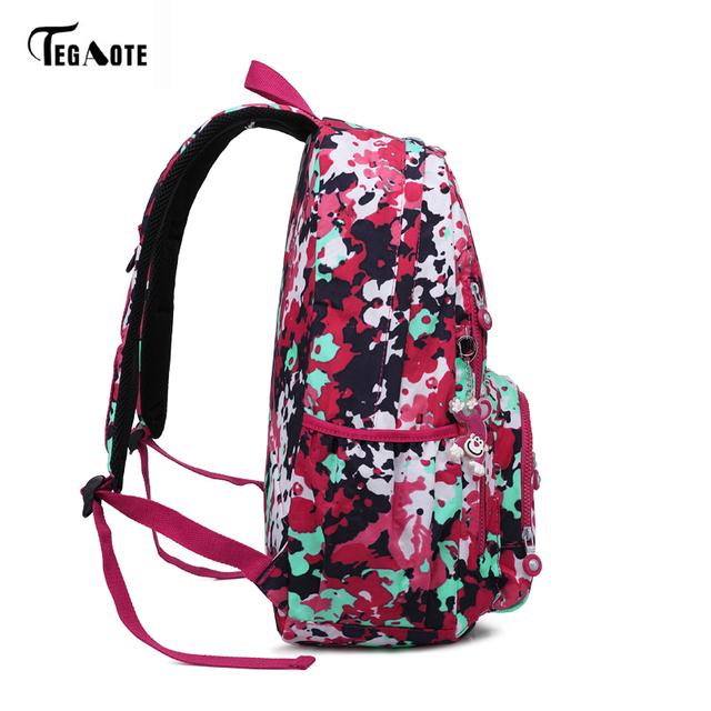 TEGAOTE Girls School Bag
