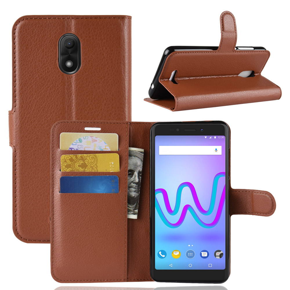 Smartphone Cases Us 2 79 44 Off Wiko Jerry 2 3 Smartphone Case Flip Pu Leather Protective Back Cover Case For Wiko Jerry2 Jerry3 Business Phone Bags Wallet Case In