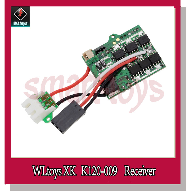 2Pcs K120 Receiver Board for Wltoys XK K120 RC Helicopter spare parts K120 009-in Parts & Accessories from Toys & Hobbies    1