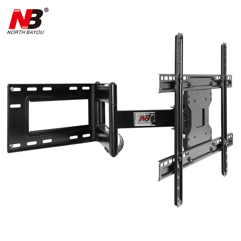 NB SP2 Heavy Duty 40-70 Flat Panel LED LCD TV Wall Mount Full Motion Ultra Long Arm Swivel 180 Degree Wall Distance 110-712mm