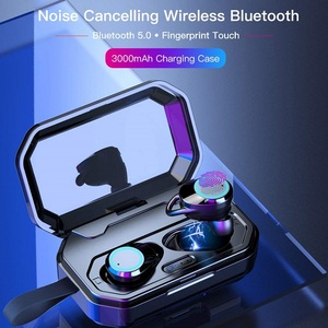 Image 4 - YTOM auriculares inalámbricos con Bluetooth 5,0, dispositivo 3D con batería de 3000 mAh, IPX6, para exteriores, para IOS y Android