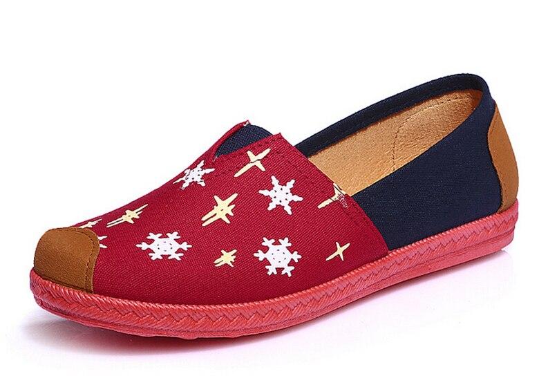 Al por mayor Nueva Manera de Las Mujeres de Los Planos Zapatos Slip,on mocasines