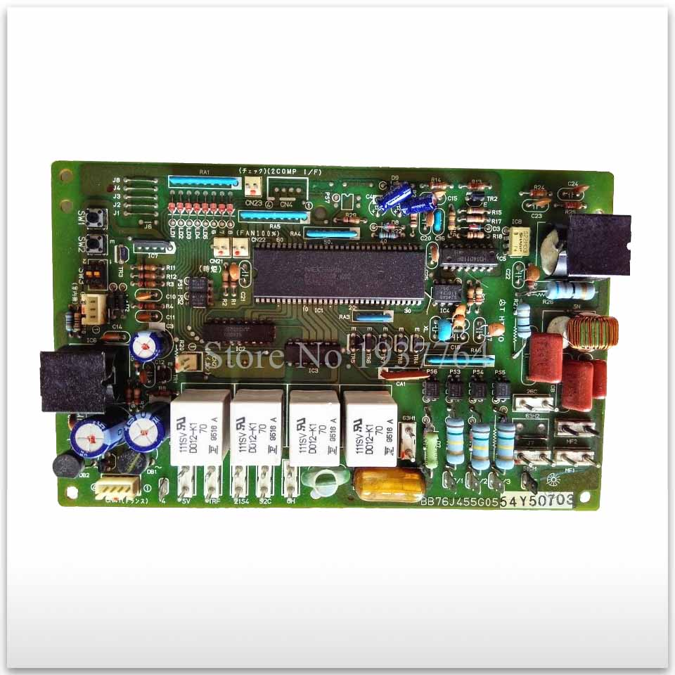 95% new for Mitsubishi Air conditioning computer board circuit board BB76J455G05 good working цена 2017