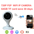 V380 bebé monitor de la cámara 64 Gb guardar H.380 30day 720 P P2P cámara Video Vigilancia cámara 1000 peopel para ver WiFi Cámara IP P2P