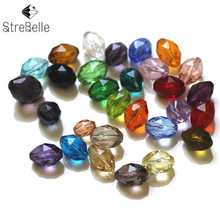 100pcs/lot 9x6mm 84fa Decorative AAA Crystal Beads Wholesale Jewelry Making Cloth Accessory Loose DIY