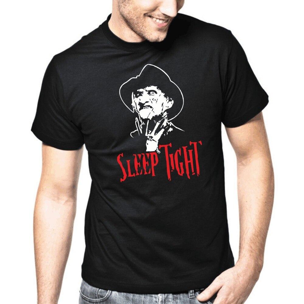 2018 New Arrive Fashion Brand T Shirts Men Summer Print Casual T-Shirt Sleep Tight Adults Casual Tee Shirt