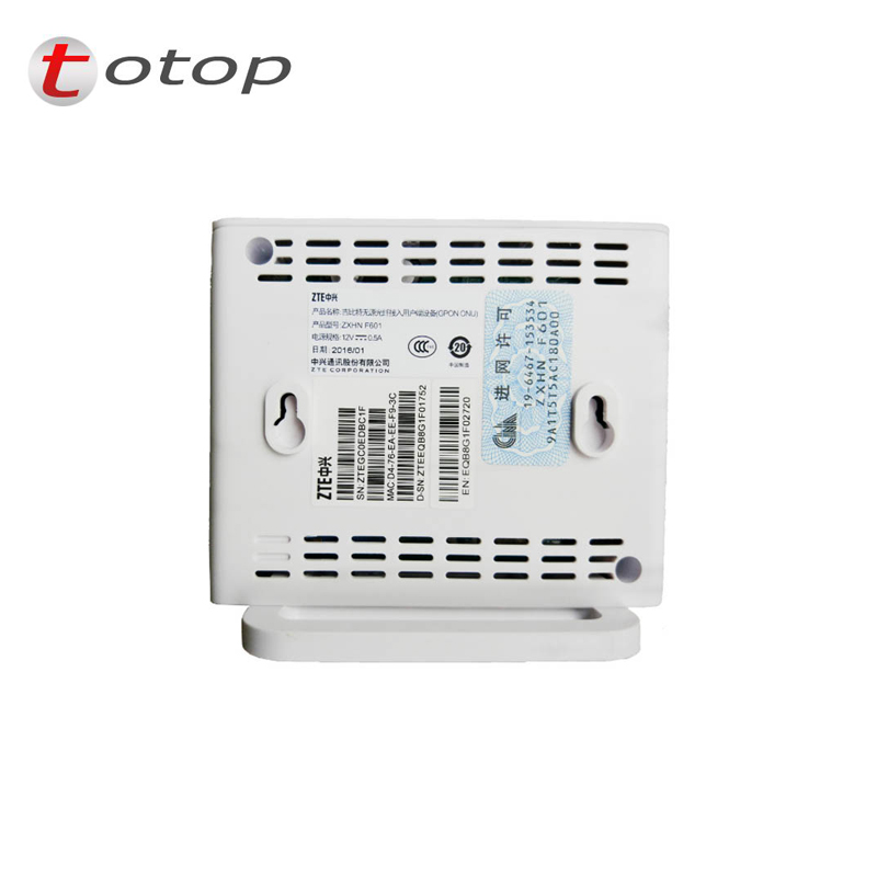 Image 5 - zte f601 ZXA10 F601 GPON ONU with 1GE Port same function as F643 F401 F660 F612W, zte f601 lowest price best selling-in Fiber Optic Equipments from Cellphones & Telecommunications