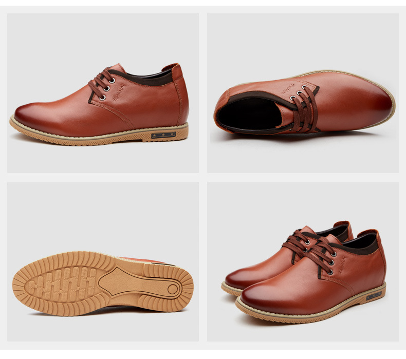Мужская обувь Для мужчин Повседневная кожаная обувь Туфли со шнуровкой на плоской подошве для Для мужчин Бизнес черный, белый, серый Для муж...