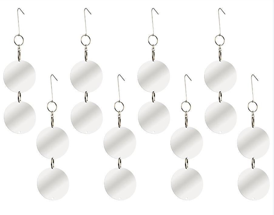 Discos repelentes de aves, dispositivo colgante reflectante para - Productos de jardín