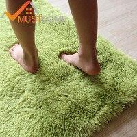 Solid Home Bathroom Rugs Bathroom Carpet 50*80Cm/19.68*31.49In