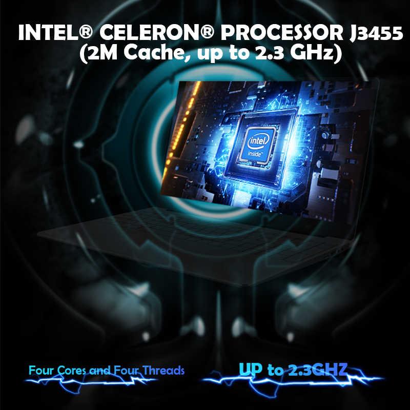 15.6 ''משחקי מחשב נייד עם תאורה אחורית מקלדת 8GB RAM 1TB 512G 256G 128G SSD ROM מחברת מחשב Win10 פרו Intel J3455 Ultrabook