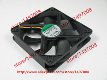 Free shipping For SUNON KD1212PTB3-6A E.B2007.F.GN DC 12V 1.9W 3-wire 3-pin connector 120X120X25mm Server Square Cooling Fan