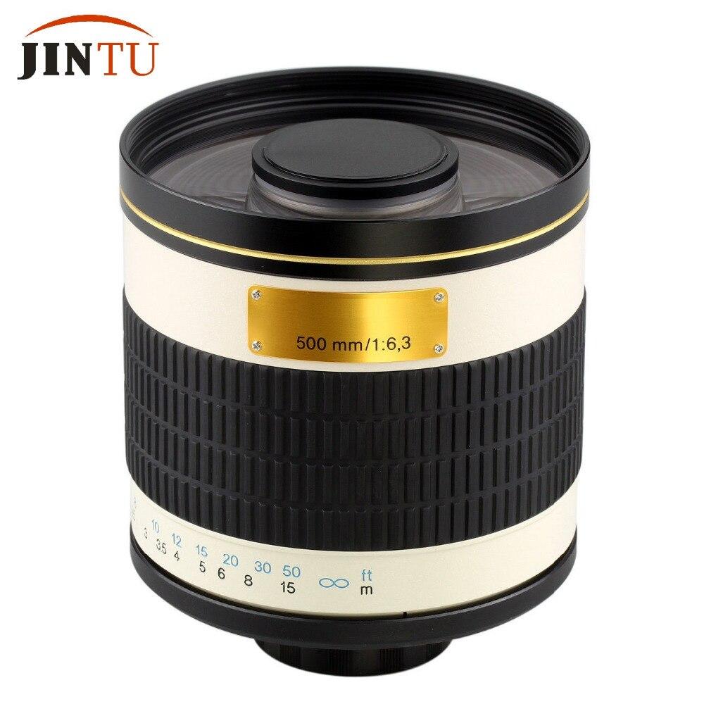 JINTU 500mm f / 6.3 F6.3 Valge Telephoto peegel objektiiv Sony Alpha - Kaamera ja foto - Foto 5