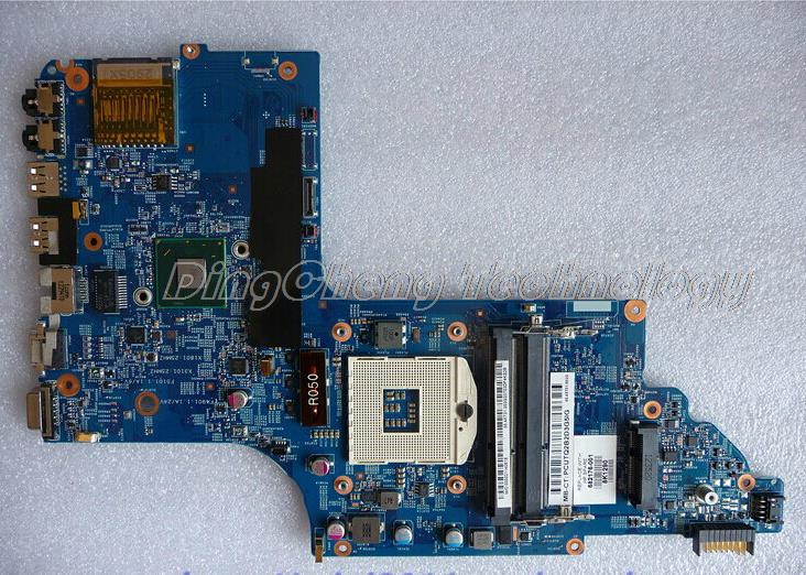 SHELI laptop Motherboard For hp DV6-7000 682176-001 for intel cpu with integrated graphics card 100% tested fully