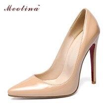 New Heels Shoes Women High Heels  High Heels Ladies Shoes Party Pumps Black Big Size 12 45 46