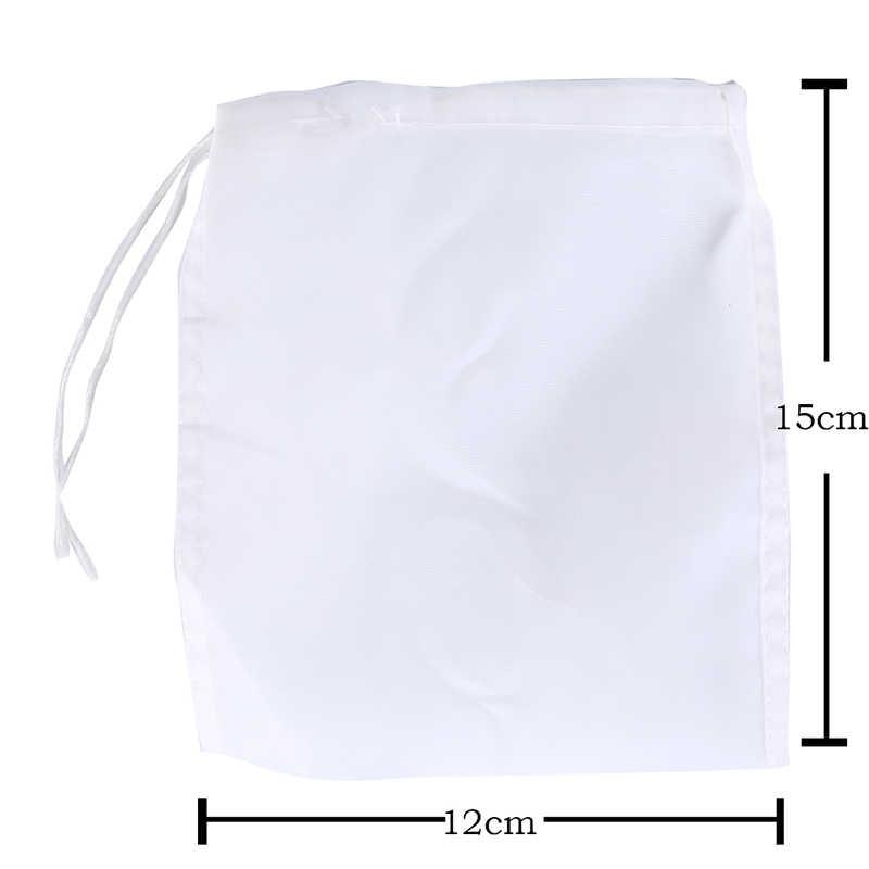 1Pcs Nylon Teabags Empty Tea Bags Mesh Filter Bag Food Strainer Cheese Maker Coffee Tea Filter Nut Milk Bags S/M/L/XL Size