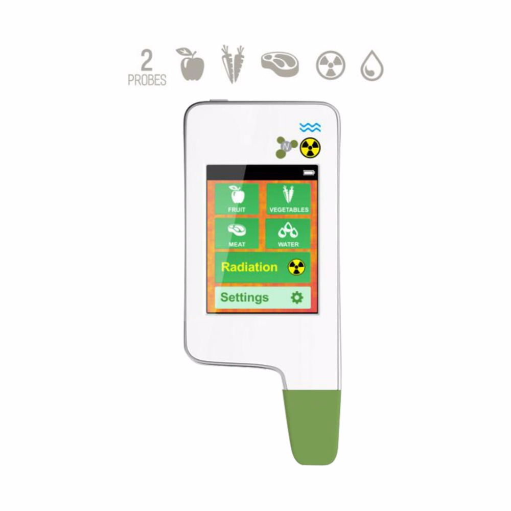 GREENTEST ECO 5 Radiation Detector Read Digital Food Nitrate Tester fruit and vegetable Nitrate Detection Health