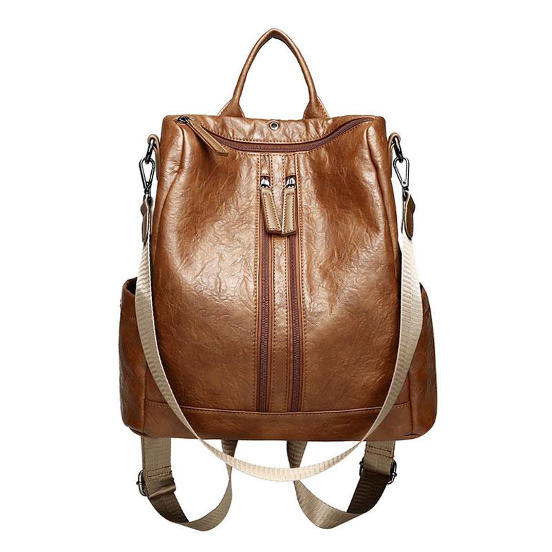 Women Backpack High Quality Fashion Leather Backpacks for Teenage Girls Female PU Shoulder Bag Causal Totes Bagpack mochila