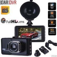 3.0 Inch Car Dash Camera DVR With 1080P Cam120 Wide Angle Driving Recorder Speak English G6KC