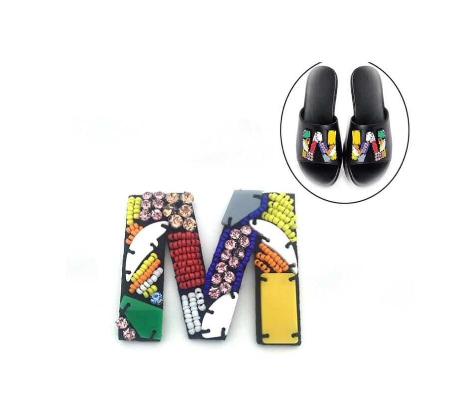 1 Paar Schuhe Blume Charme Patch Auf Applique Diy Kristalle Strass Nähen Appliques Hohe Ferse Wohnungen Hausschuhe Schuhe Deocration üBerlegene Leistung