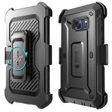 SUPCASE For Samsung Galaxy S7 Case UB Pro Series Full Body Rugged Holster Protective Cover Case WITH Built in Screen Protector