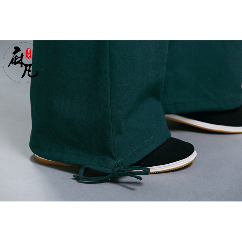 Erkekler Kung Fu Tai Chi Üniforma Pantalon Homme erkek Rahat - Erkek Giyim - Fotoğraf 6