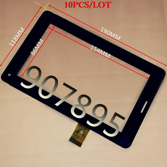 """10pcS New 7"""" tablet TPC1219 Ver1.0 TPC0533 touch screen panel  Digitizer Glass sensor free shipping tablet LCDs & panel s"""