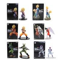 11-21 cm 21 cm de Dragon Ball Z Vegeta troncos Son Goku Gohan celular freezer de acción | PVC figuras de acción dramática modelo de escaparate muñeca de juguete Figuras