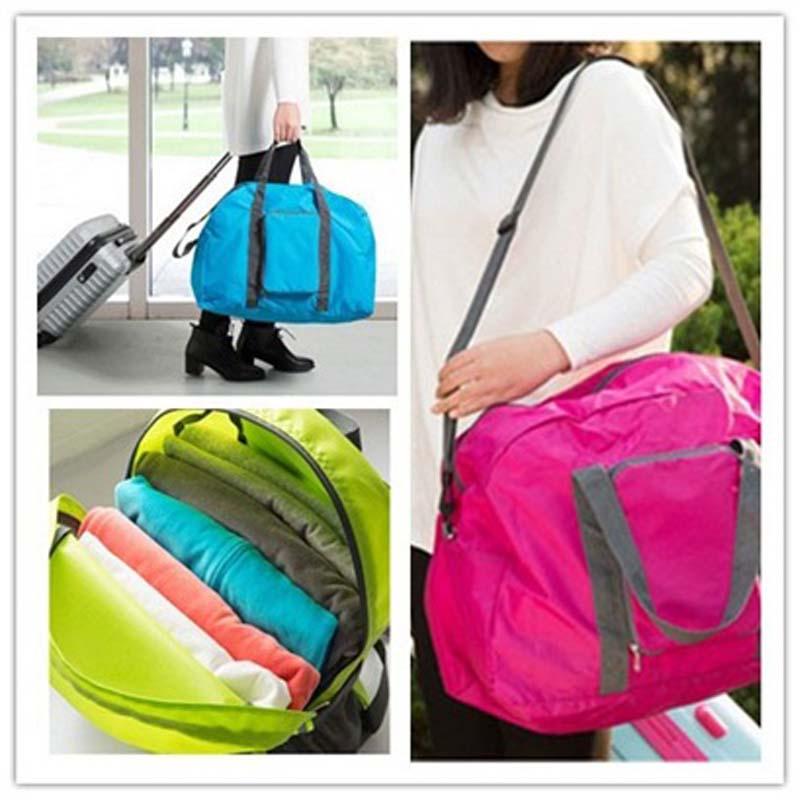 High quality folding and portable travel bag men High capacity travel bags casual Handbag special shoulder bag