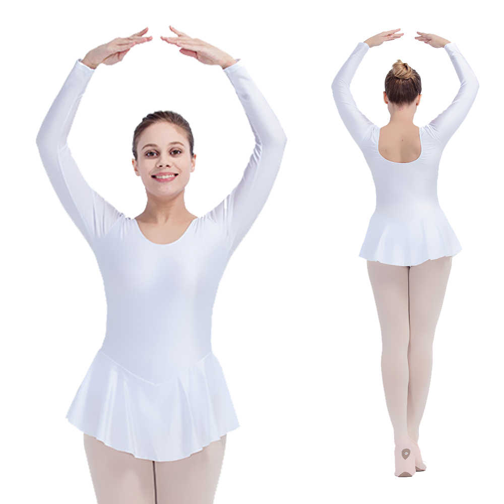 45e7d6408 Detail Feedback Questions about White Shiny Nylon Lycra Long Sleeve ...