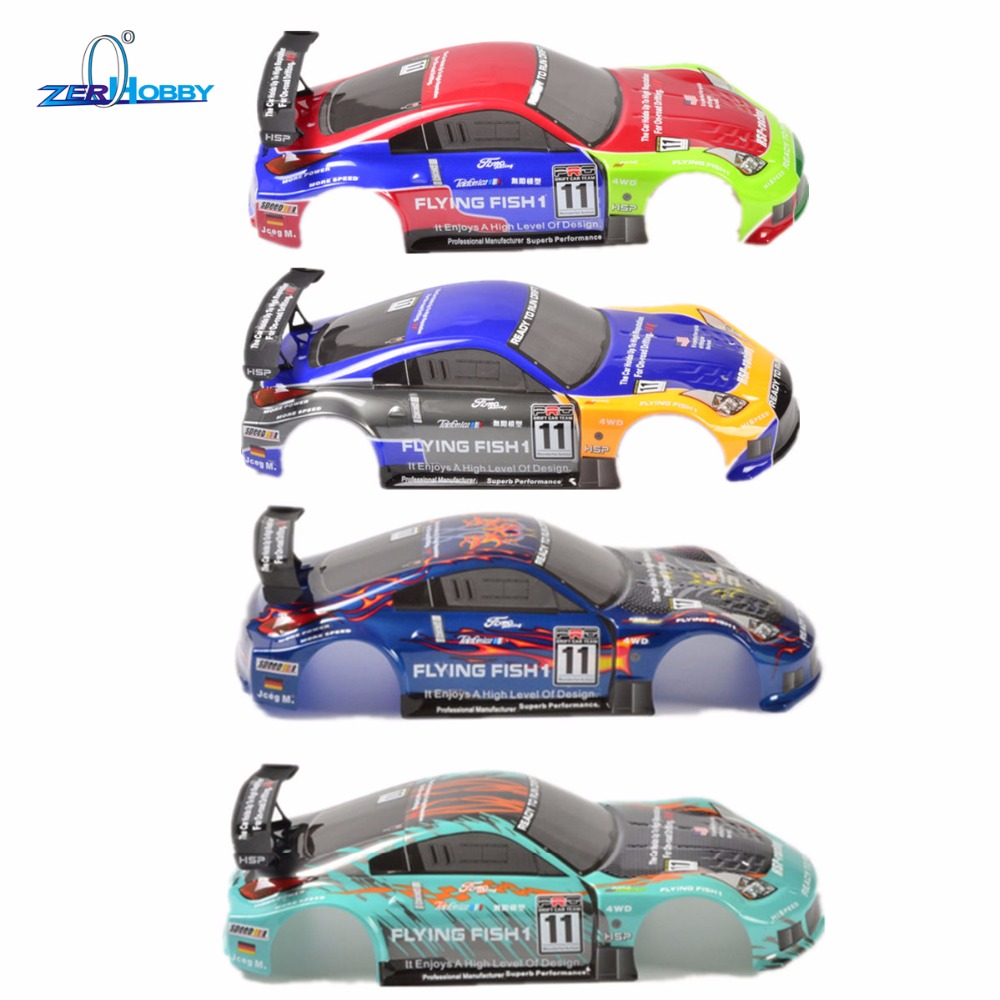 HSP RACING CAR SPARE PARTS ACCESSORIES BODYSHELL COVER 44*20CM FOR HSP 1/10 SCALE ELECTRIC POWER ON ROAD RC CARS 94123 94123PRO