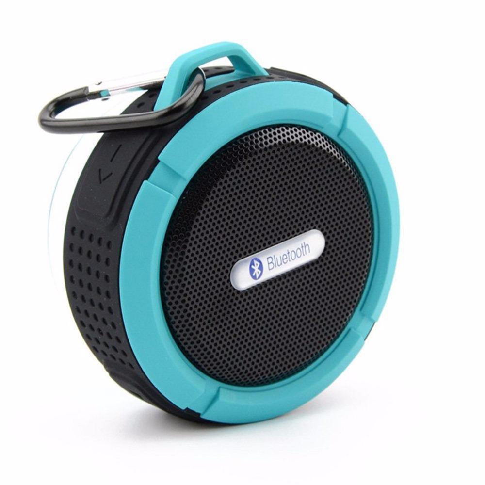 Image 3 - C6 屋外ワイヤレス Bluetooth 4.1 ステレオポータブルスピーカー内蔵マイク衝撃抵抗 IPX4 防水 Louderspeaker    グループ上の 家電製品 からの ポータブルスピーカー の中