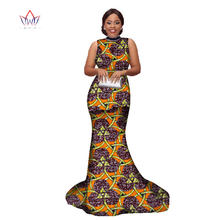 2019 Summer skirt set african dresses for women designed clothing O-Neck  traditional Bazin dashiki plus size natural 3xl WY1858 d7c97f84404b