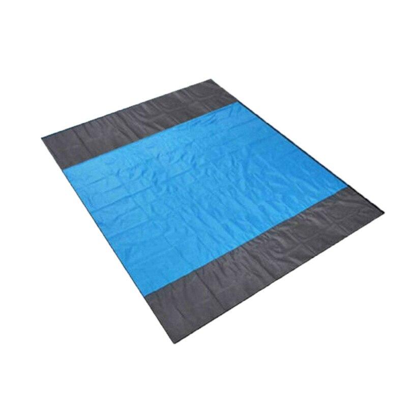 Водонепроницаемый Пляжный коврик на открытом воздухе фон для фото из ткани для пикника, покрывало, плед для пляжного матрас походный матрас с сумкой для хранения#2m28 - Цвет: 145x200cm