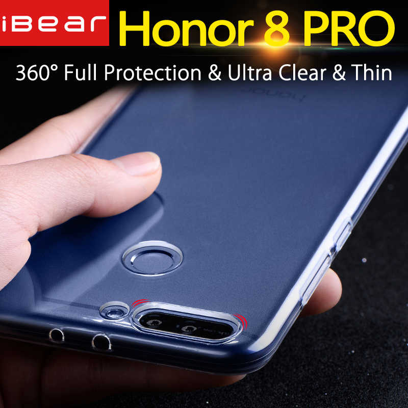Huawei honor 8 pro case Huawei honor 8 pro case cover silicone clear back mofi honor8 PRO case 5.7 duke coque transparent TPU