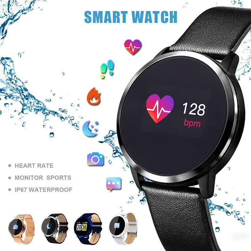 Bracelet Smartwatch Sport Blood-Pressure-Monitor Heart-Rate Waterproof Men Man Calorie