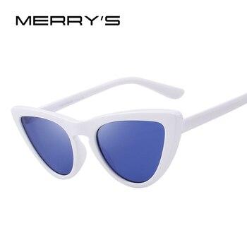 MERRYS DESIGN Fashion Women Cat Eye Sunglasses Brand Designer Sunglasses S6319 Women's Glasses