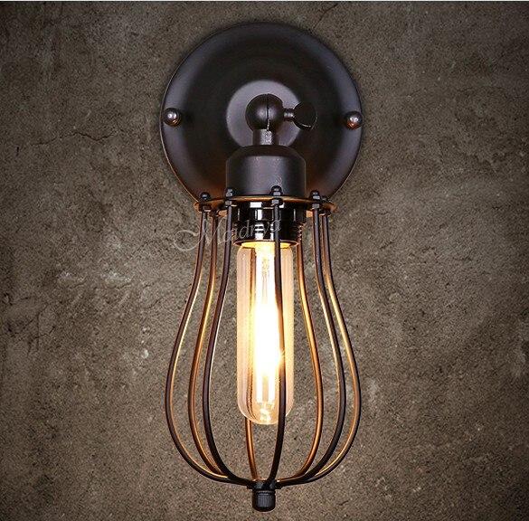 Antique Loft Style Vintage Wall Light Fixtures Industrial